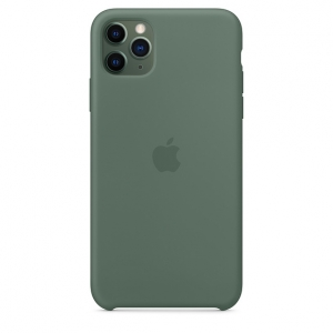 Silicone Case iPhone 11 Pro/ Pro Max Pine Green OEM