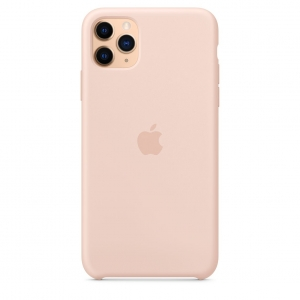 Silicone Case iPhone 11 Pro/Pro Max Pink Sand OEM