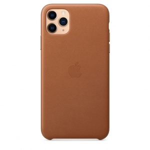 Leather Case iPhone 11 Pro/ Pro Max Saddle Brown Replica