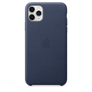 Leather Case iPhone 11 Pro/ Pro Max Midnight Blue OEM