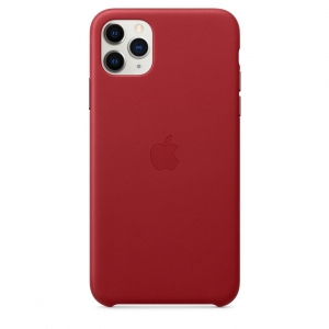 Leather Case iPhone 11 Pro/ Pro Max (PRODUCT)RED OEM