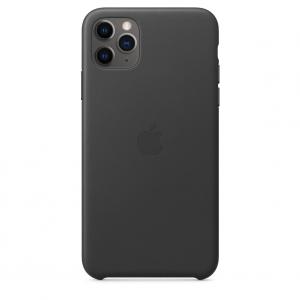 Leather Case iPhone 11 Pro/ Pro Max Black OEM