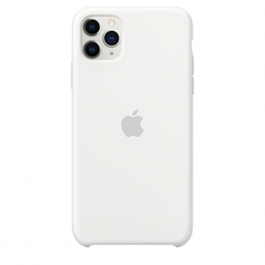 Silicone Case iPhone 11 Pro/ Pro Max White OEM