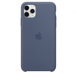 Silicone Case iPhone 11 Pro/ Pro Max Alaskan Blue OEM