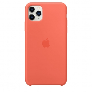 Silicone Case iPhone 11 Pro/ Pro Max Clementine OEM