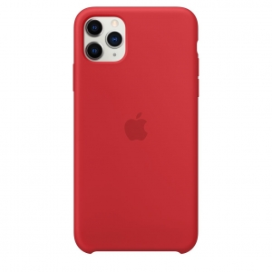 Silicone Case iPhone 11 Pro/ Pro Max (PRODUCT)RED OEM