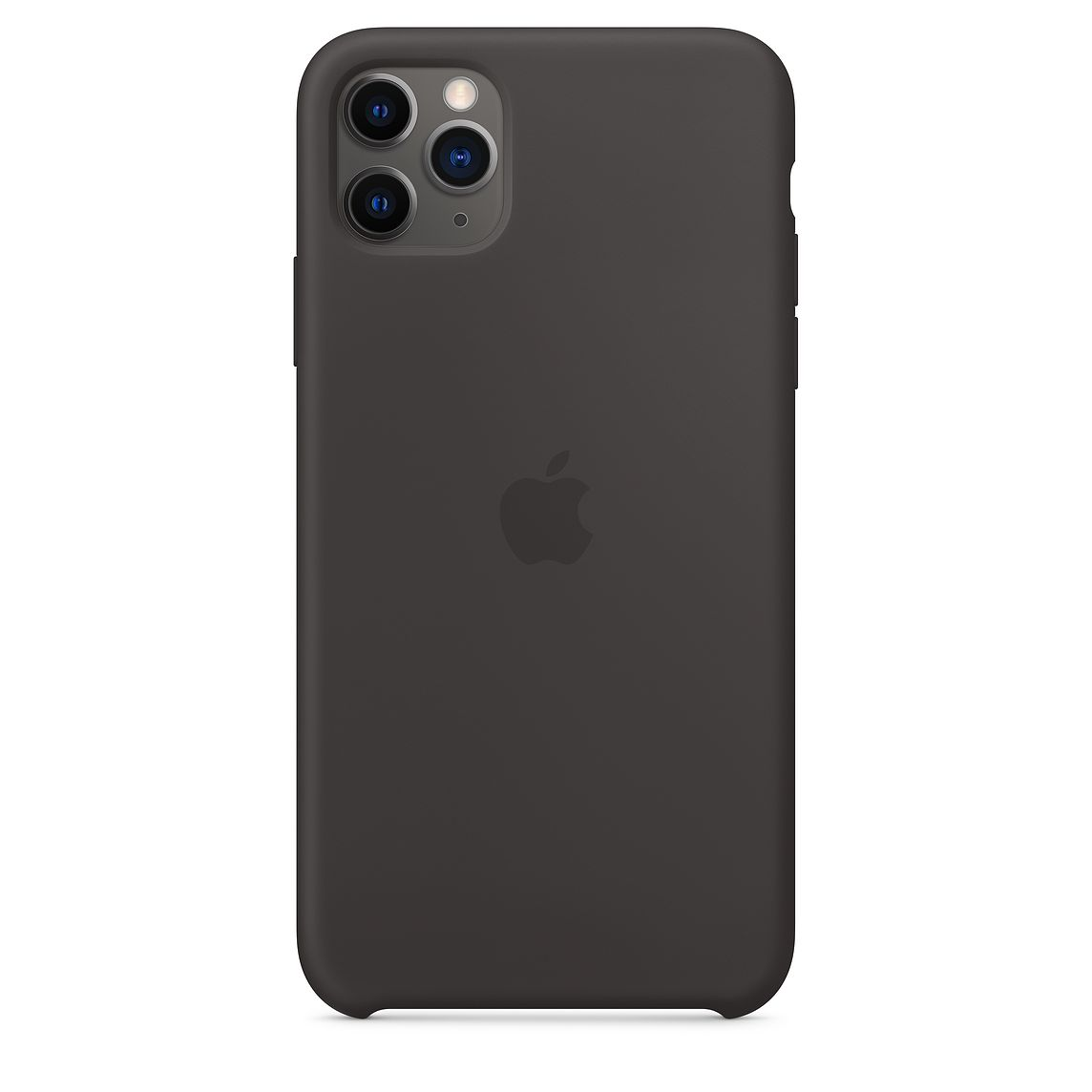 Silicone Case iPhone 11 Pro/ Pro Max Black OEM