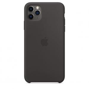 Silicone Case iPhone 11 Pro/ Pro Max Black Replica