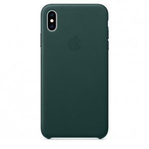 Leather Case iPhone XS/XS Max Forest Green Replica