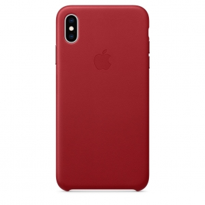 Leather Case iPhone XS/ XS Max (PRODUCT)RED Replica