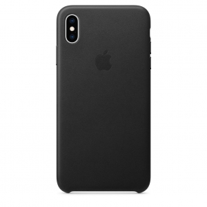 Leather Case iPhone XS/ XS Max Black OEM
