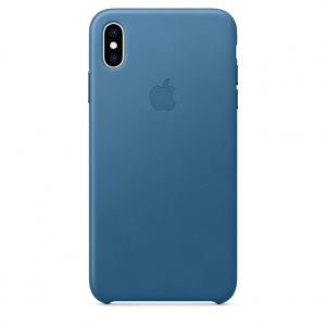 Leather Case iPhone XS/XS Max Cape Cod Blue OEM