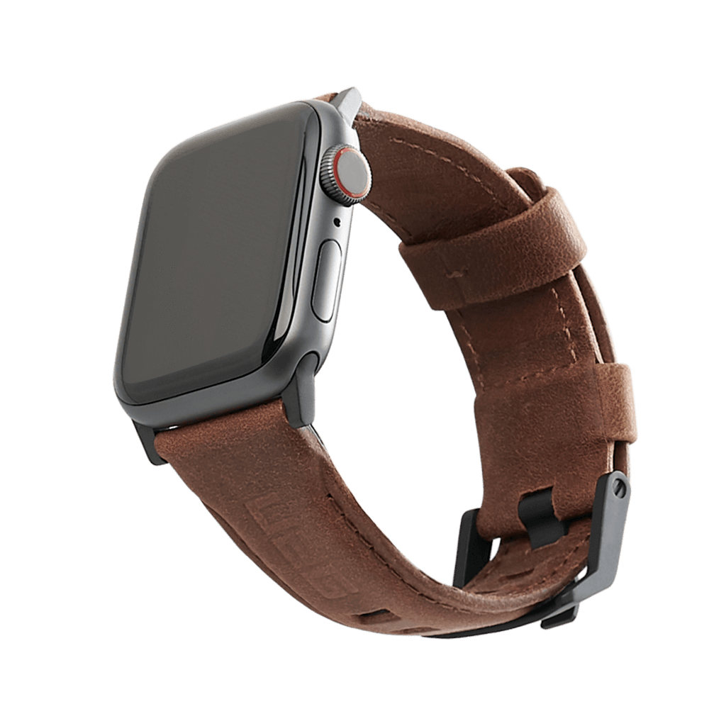 Dây Apple Watch UAG Leather Brown OEM