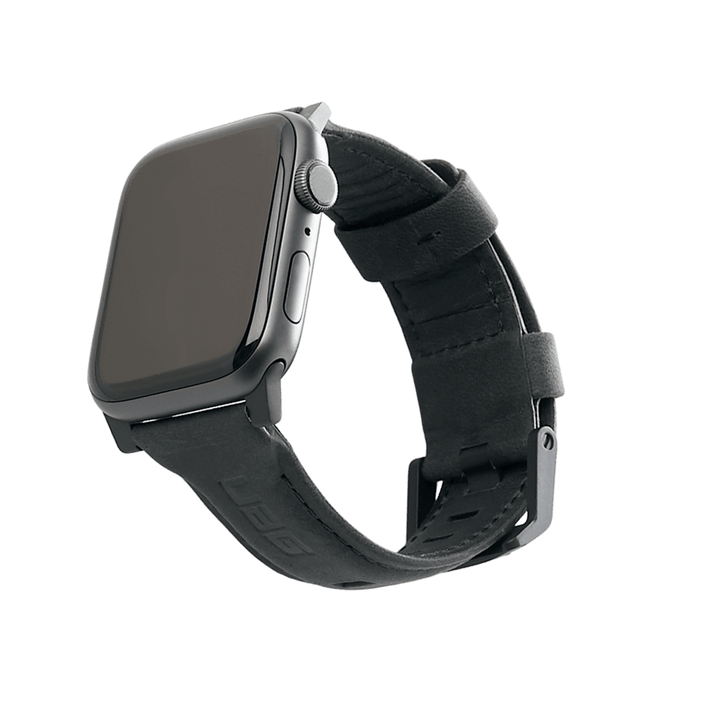 Dây Apple Watch UAG Leather Black OEM