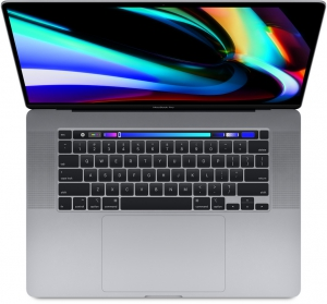 MacBook Pro 16 inch Space Gray 1TB MVVK2