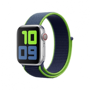 Dây Apple Watch Neon Lime Sport Loop OEM