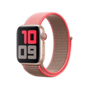 Dây Apple Watch Neon Pink Sport Loop OEM