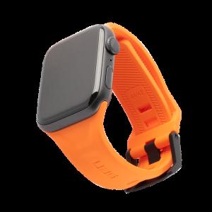 Dây Apple Watch UAG Silicone Orange OEM