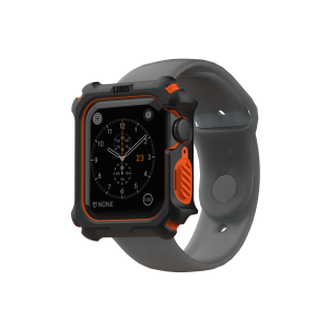 Case Apple Watch UAG Black/Orange 44MM OEM