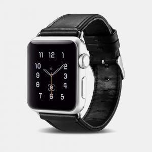 Dây da Apple Watch Vintage iCarer Black chính hãng