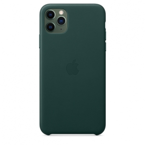 Apple Leather Case iPhone 11 Pro Max Forest Green