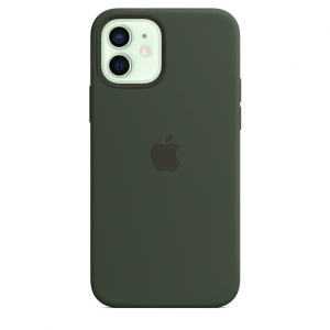 iPhone 12 | 12 Pro Silicone Case Cyprus Green Replica (Without MagSafe)