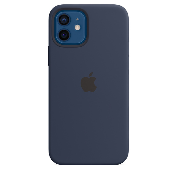 iPhone 12 | 12 Pro Silicone Case With MagSafe Deep Navy Replica
