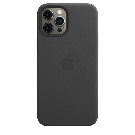 Leather Case iPhone 12 Pro Max Black Replica