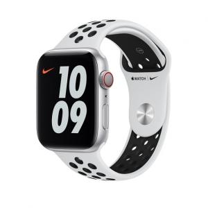Dây Apple Watch Pure Platinum/Black Nike Sport Band chính hãng