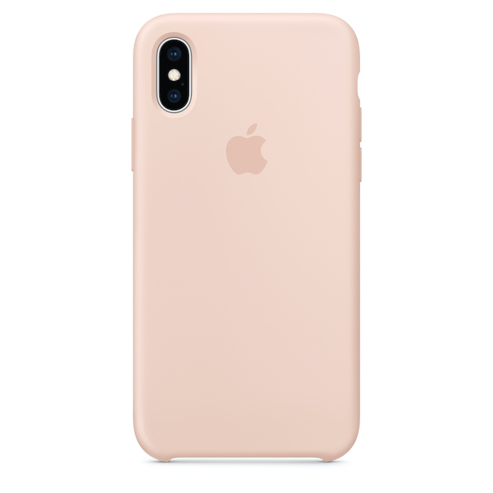iPhone X/XS Silicone Case Pink Sand Replica