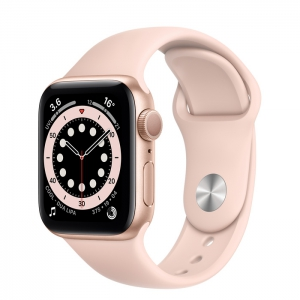 Apple Watch Series 6 40MM GPS Gold/Pink Sand Sport Band