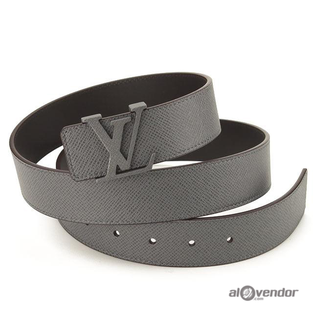 Louis Vuitton Taiga Leather Initials Belt