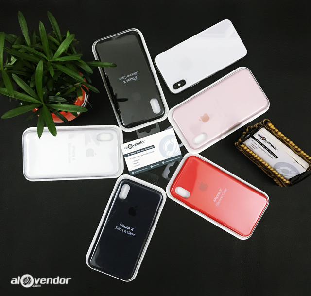 Ốp Apple Silicone iPhone X/XS Replica