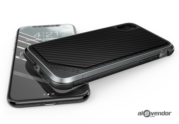 Case iPhone X XDORIA Defense Lux Carbon