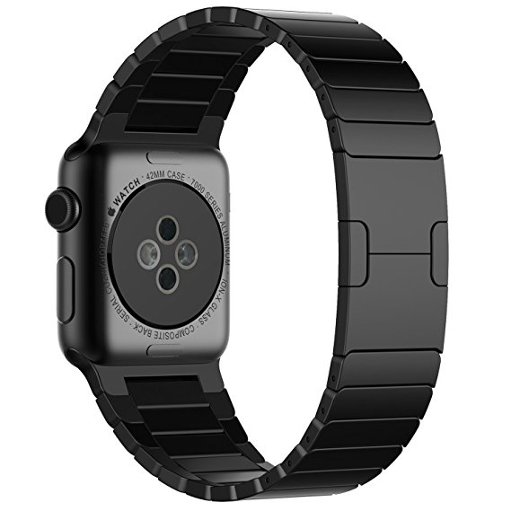 Dây Apple Watch Link Bracelet Black