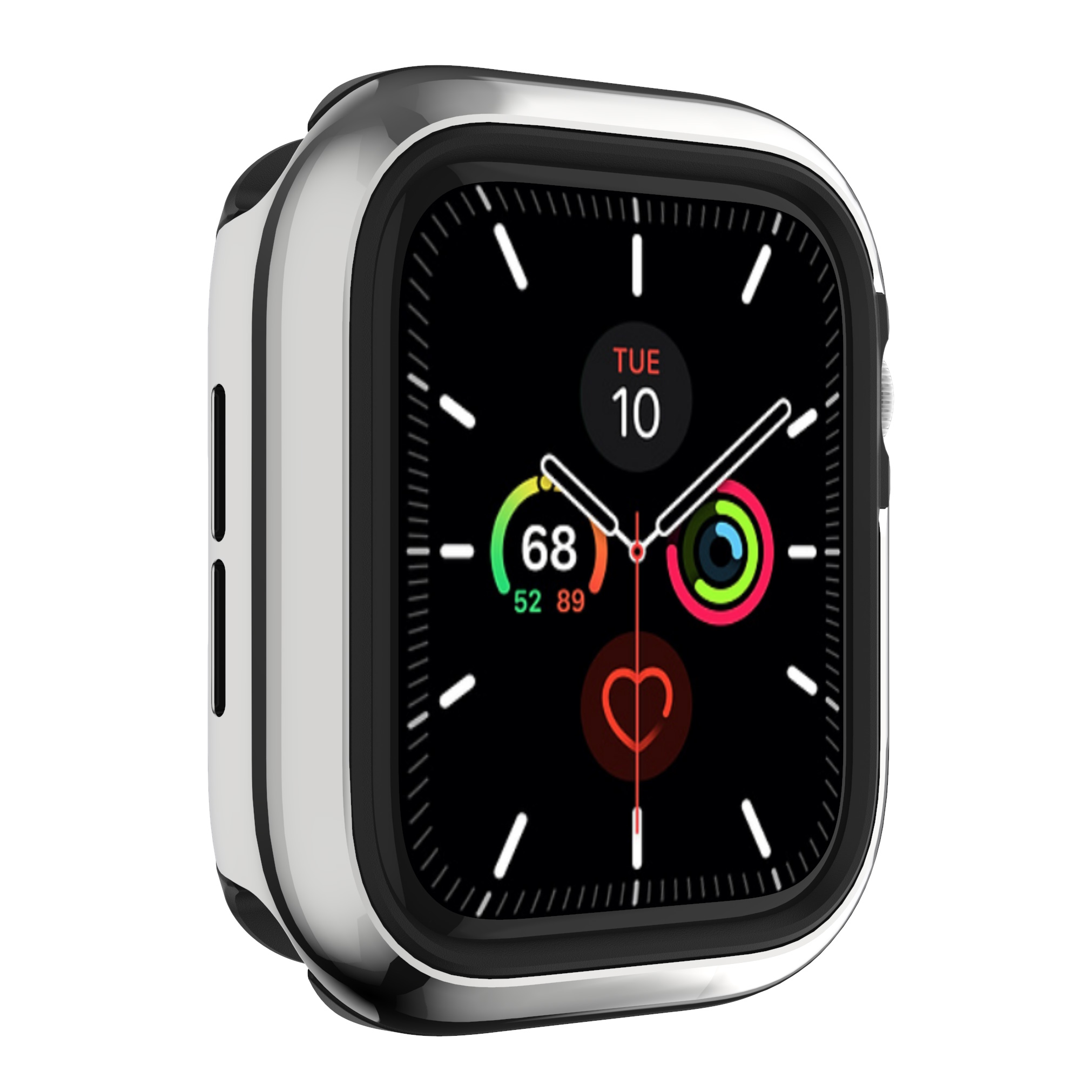 SwitchEasy Odyssey Apple Watch Case Flash Silver